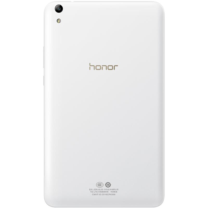 华为 荣耀平板2 标准版 8英寸 (八核 3G/16G 1920x1200 4800mAh WiFi) 珍珠白