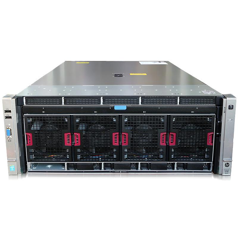 惠普(HP) DL580G9 816818-AA1 E7-4830V4 4U机架式服务器 双颗4830v4 14核2.0G 双个内存板双电源 标配(标机32G内存)无硬盘