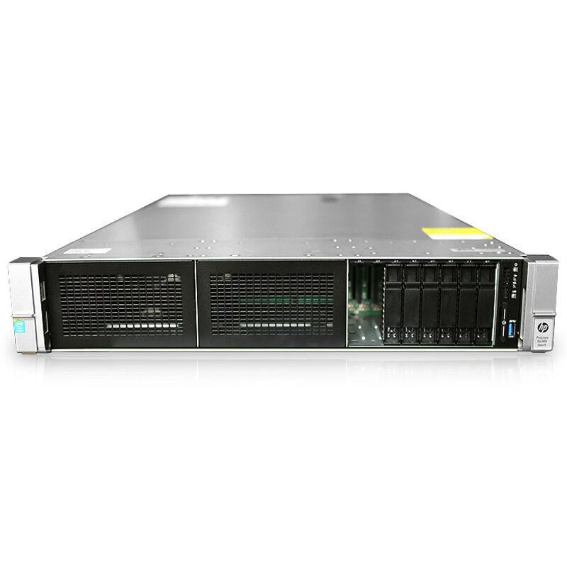 惠普(hp) DL388 Gen9 HPE 2U机架式服务器 至强E5系列 配置: 单颗E5-2603V4 6核1.7G 单电源 16G内存+3块1TB 7.2K SAS硬盘