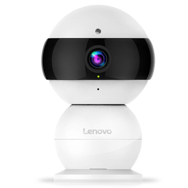 联想(Lenovo)看家宝 1080P高清智能摄像机 360°手动旋转 无线WIFI夜视网络摄像头 远程监控安防