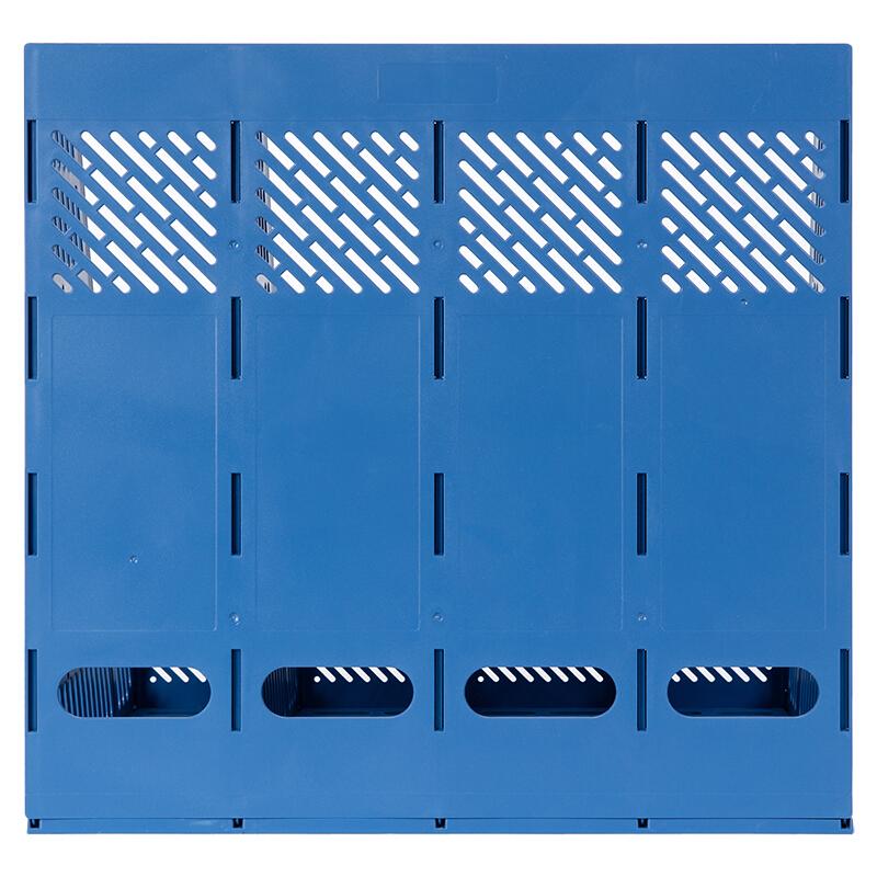 得力(deli)9848 四联/四栏文件筐/文件框 (蓝色)