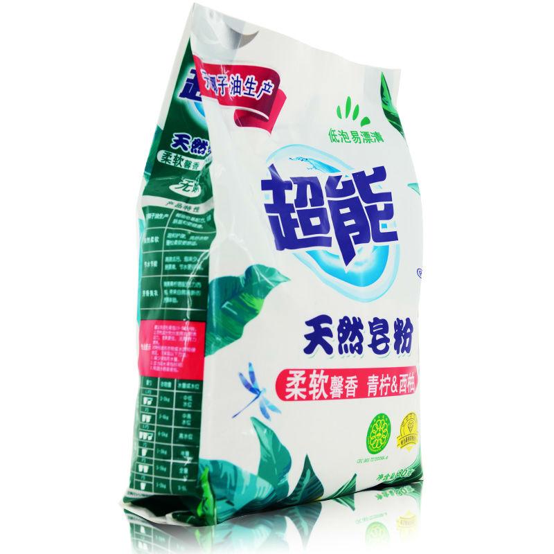 超能 天然皂粉/洗衣粉(馨香柔软)680g(新老包装随机发货)