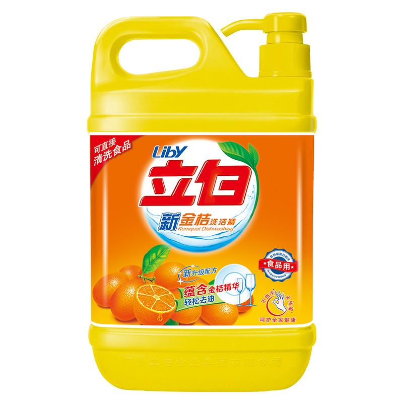 立白 新金桔洗洁精2kg/瓶