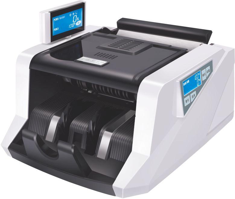 浩顺F9验钞机 银行专用 双屏智能点钞机 金额累加语音点钞机