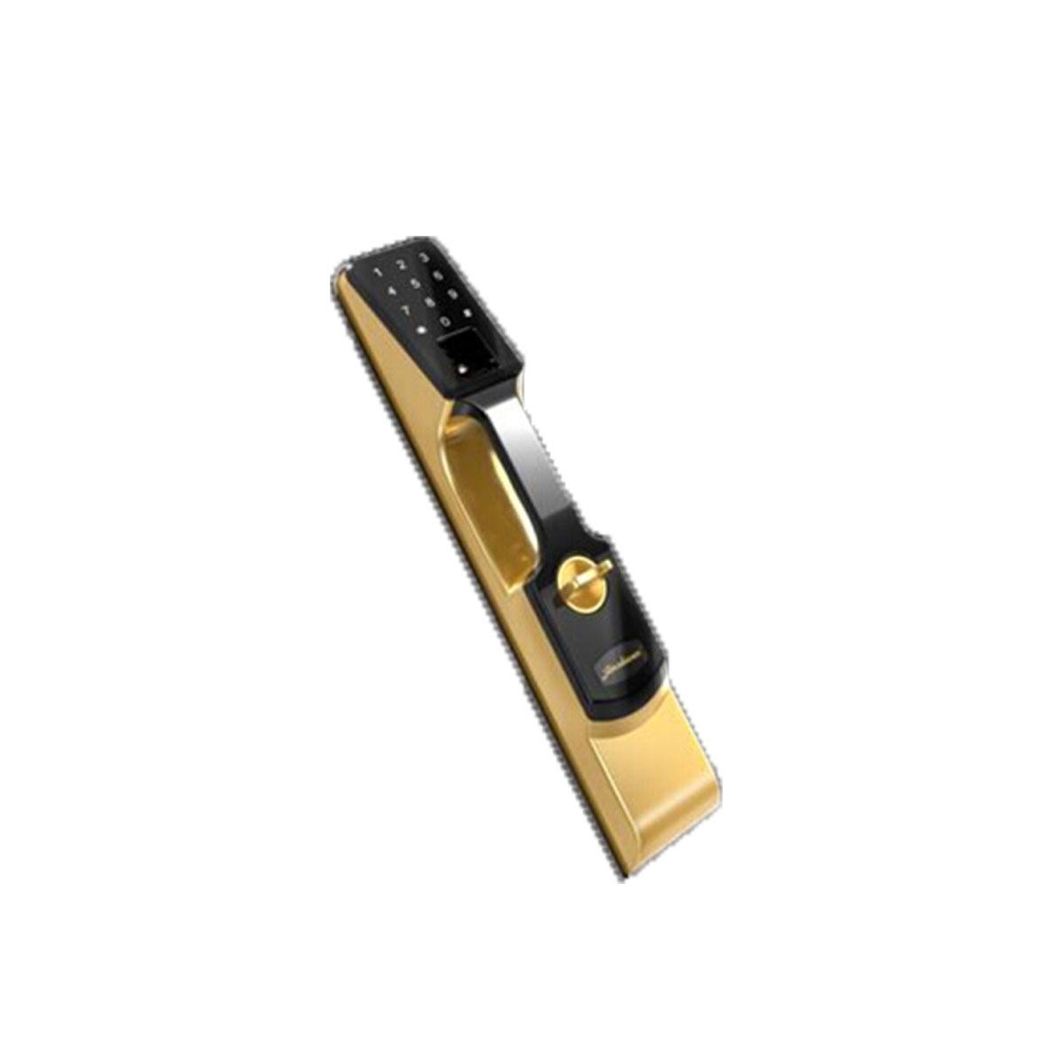 科密K1指纹锁 指纹锁家用防盗门密码锁智能电子锁 土豪金