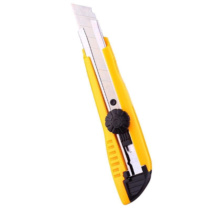 得力(deli)2043 大号美工刀 旋转锁定裁纸刀/切纸刀 颜色随机