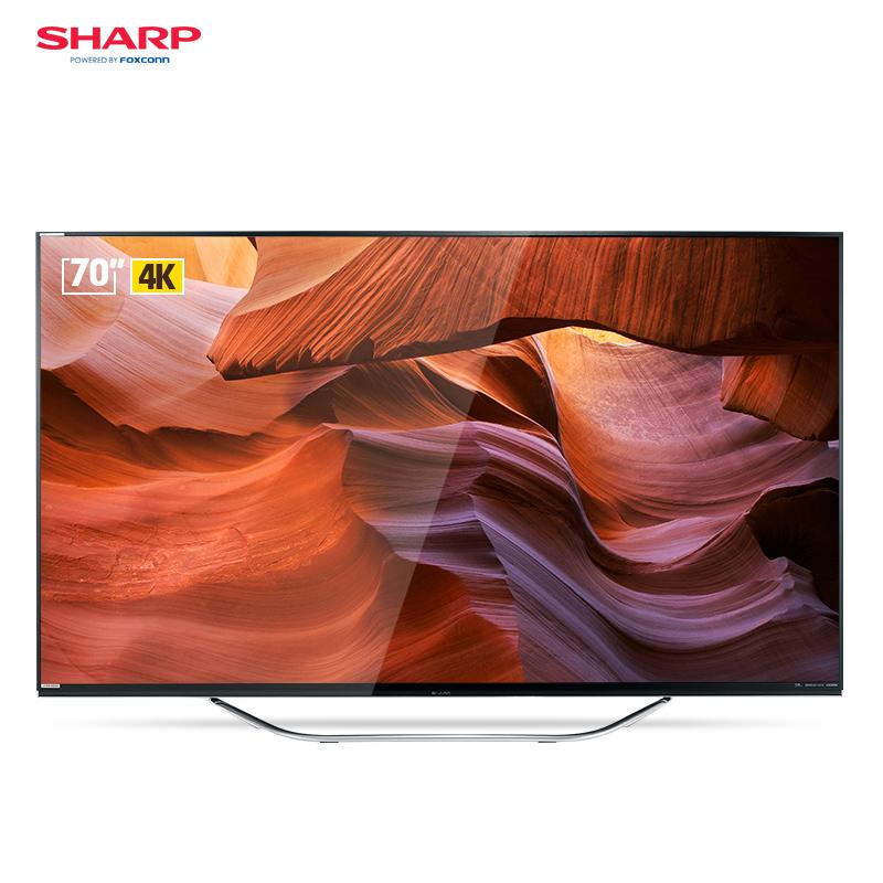 夏普(SHARP) LCD-70DS8008A70英寸4K超高清 人工智能语音液晶电视