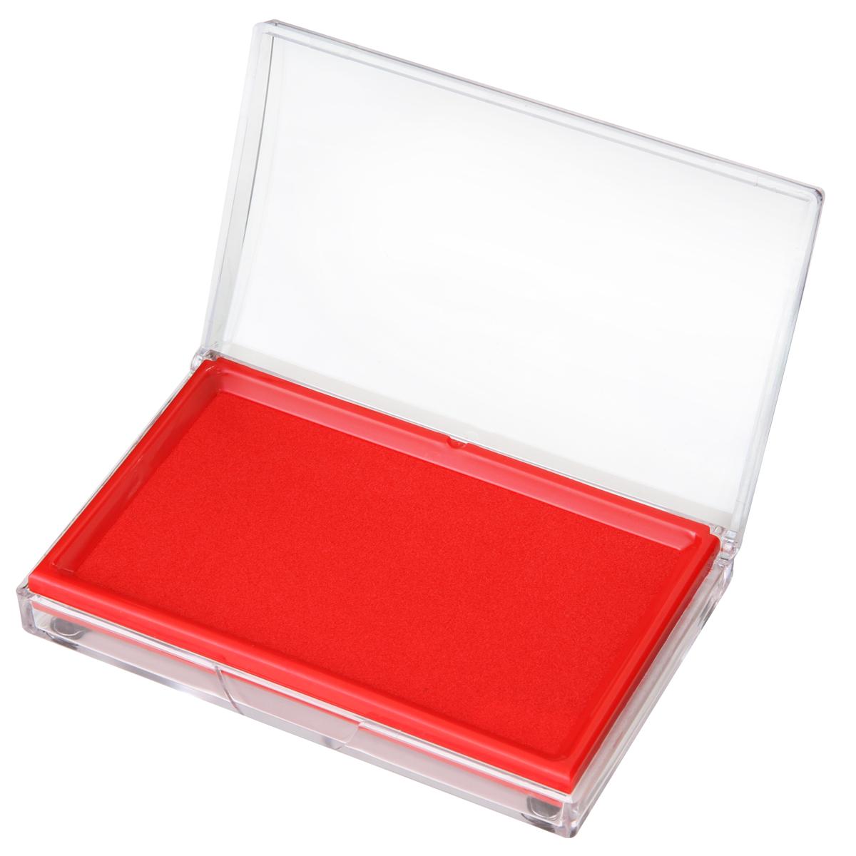 得力(deli)9864 印台印泥/办公印台/长方形印台 红色