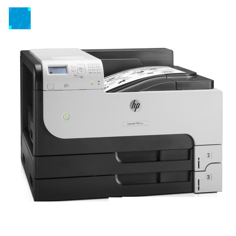 惠普HP M712DN A3 黑白激光万博官网manbetxapp 自动双面