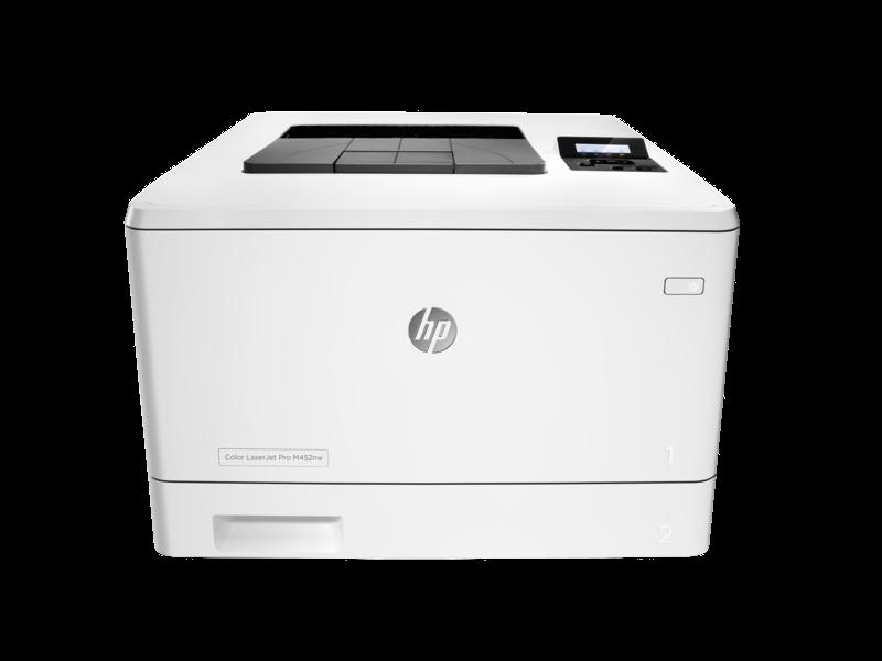 惠普HP M452nw彩色激光万博官网manbetxapp 有线网络无线wifi商用办公