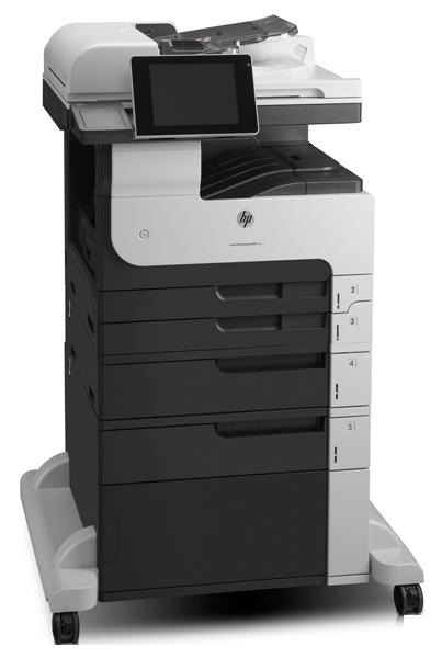 惠普HP M725F 黑白激光数码多功能一体机 双面网络打印