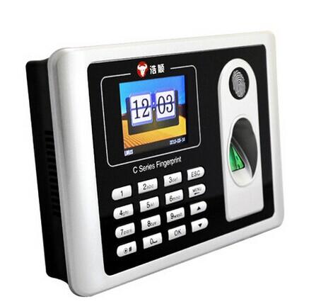 浩顺C1TU指纹考勤机 网络 指纹机USB TCP/ IP U盘下载数据指纹机
