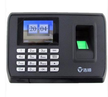 浩顺c108指纹打卡考勤机 彩屏免软件U盘导入指纹机
