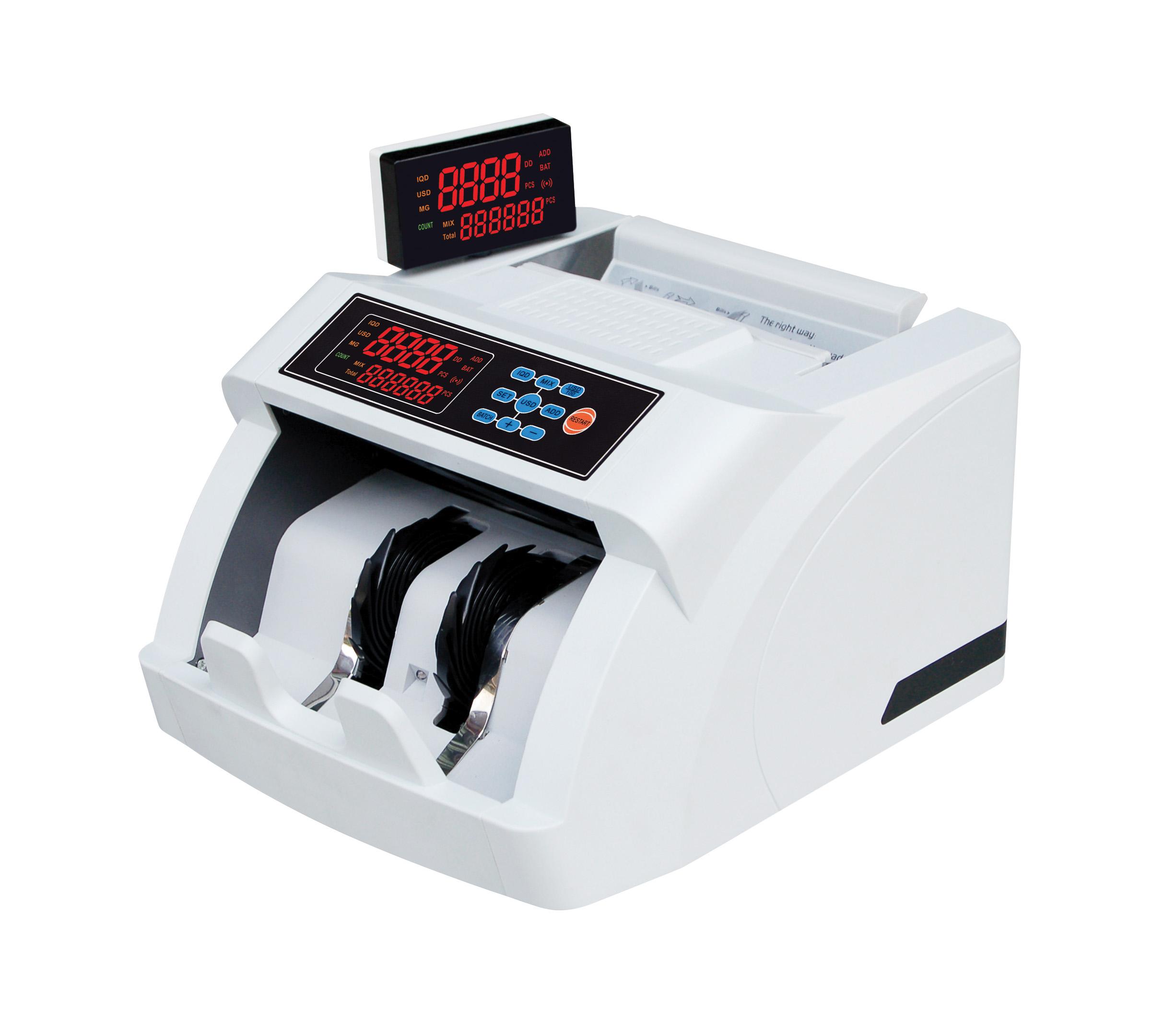 浩顺HS-5602,B类机银行专用浩顺点钞机全智能点验钞机