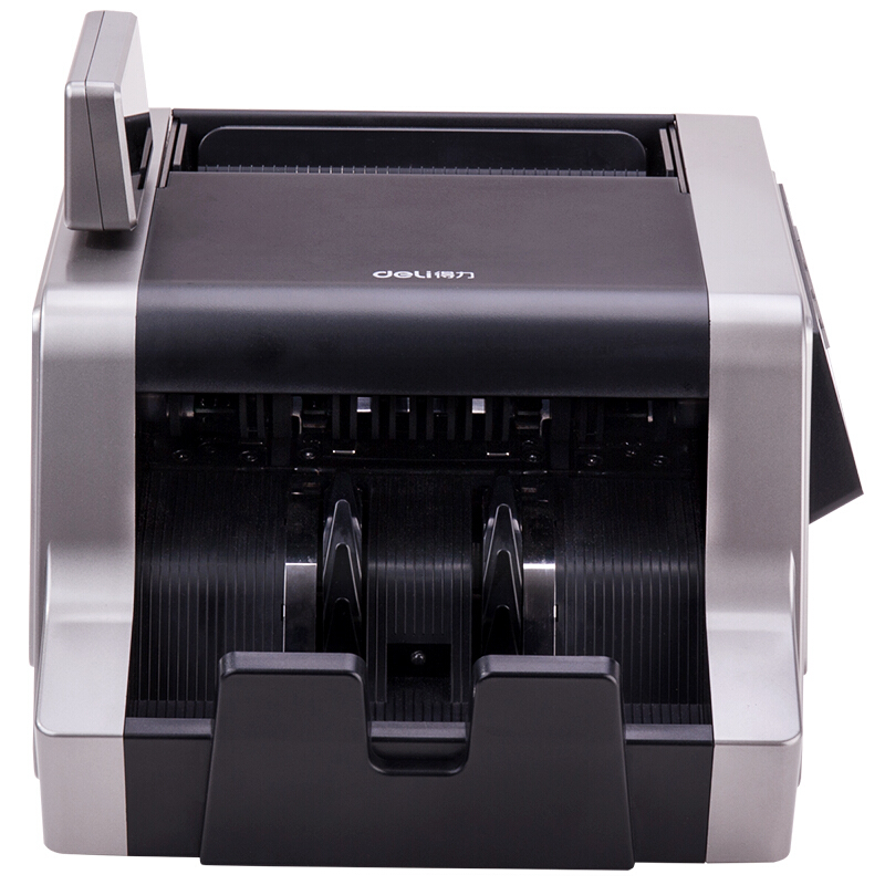 得力(deli)2195 B类银行专用点钞机 智能三屏支持新版人民币验钞机 USB升级