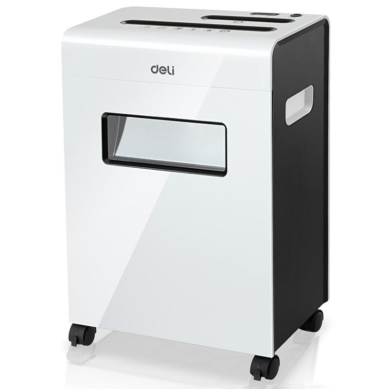 得力(deli)9911平板系列标杆碎纸机 多功能办公碎纸机