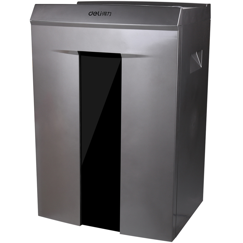 得力(deli) 9907碎纸机 大功率文件粉碎机 碎纸40分钟4级保密 静音办公型