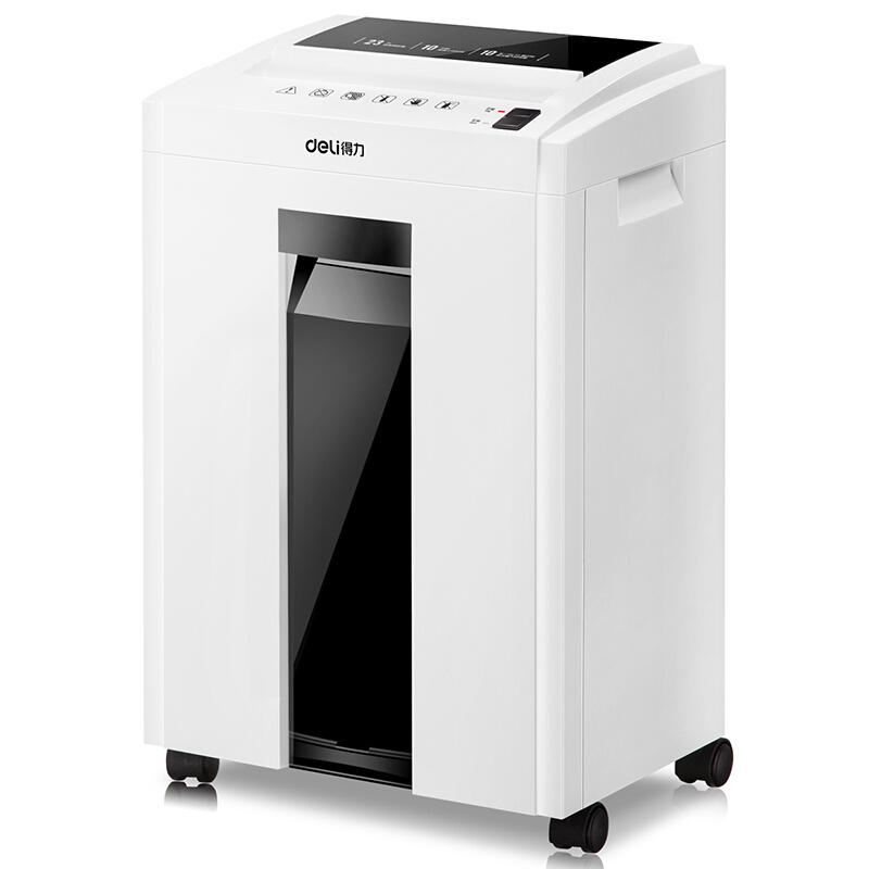 得力(deli)9952 机密卫士系列智能专业办公碎纸机(适用大型办公室/碎纸/碎卡)