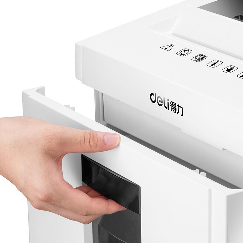 得力(deli)9953机密卫士高保密碎纸机 多功能5级保密办公碎纸机