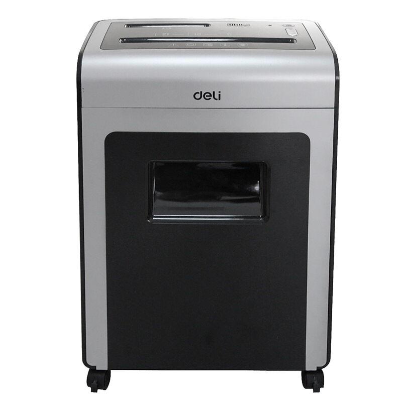 得力(deli)多功能商务办公碎纸机 得力9914碎纸机