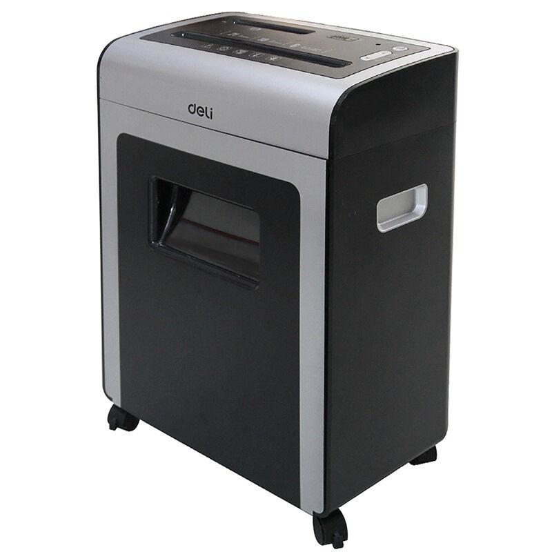 得力(deli)9915多功能商务办公碎纸机 空气净化 4级保密