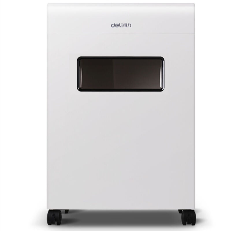 得力 (deli)9902平板系列大容量碎纸机 4级保密办公碎纸机