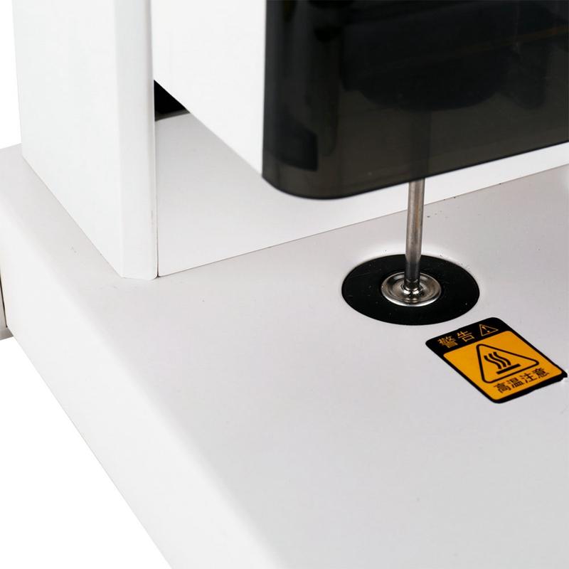 得力(deli)3888装订机财务凭证无线会计手动打孔机热熔铆管胶装机 双手柄小巧型(可装订30mm)