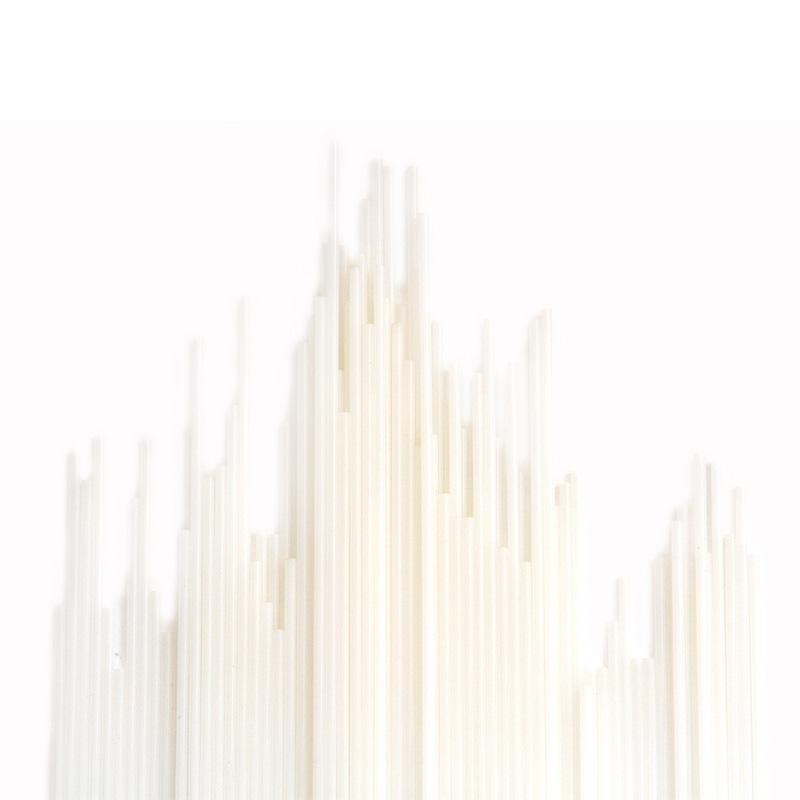 得力(deli)3847 铆管热熔管 3875 3876 3881 3888凭证装订机柳管 白色