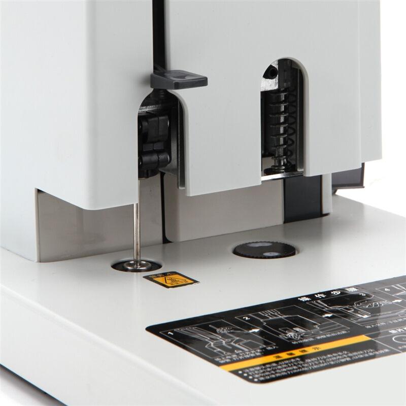 得力(deli)3886 升级版财务凭证打孔机 手动单据装订机