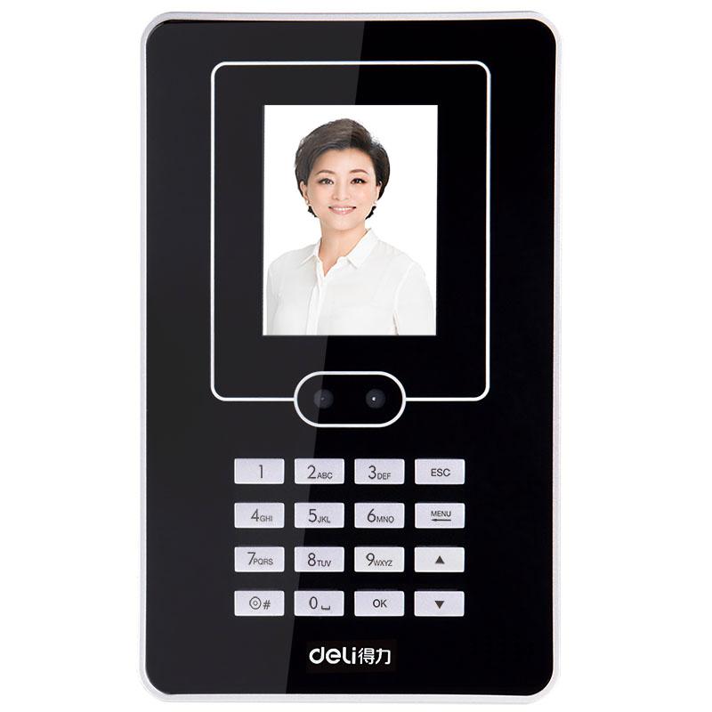 得力(deli) 3940人脸考勤机面部打卡机网络免软件安装 人脸考勤机