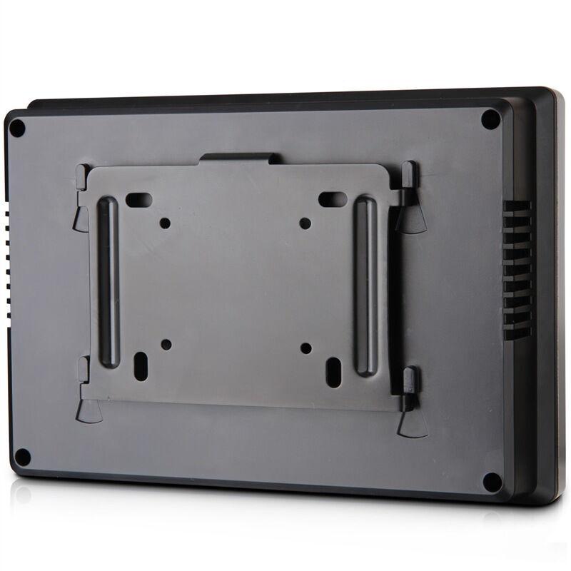 得力(deli)3968智能触屏打卡机 免软件指纹考勤机