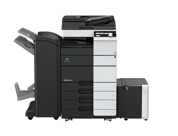柯尼卡美能达bizhub558复合机黑白激光数码多功能A3复印机(复印打印扫描) 主机