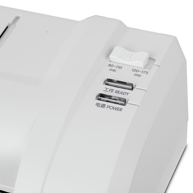 得力(deli)3894 适用A3时尚专业静音型塑封机/过塑机 银灰