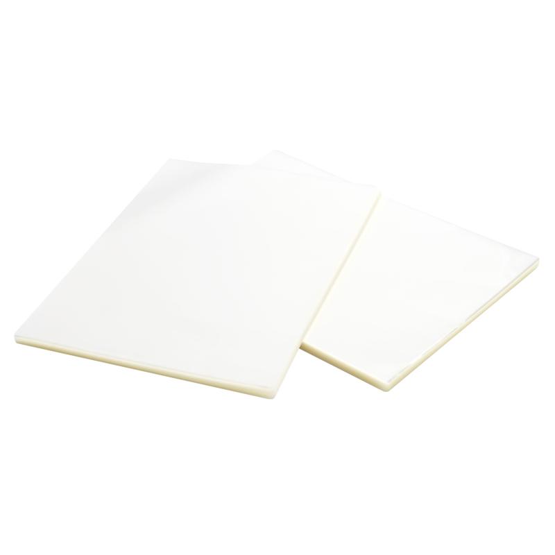 得力(deli) 适用A4简洁时尚静音型塑封机/过塑机 护卡膜 3819护卡膜A4 7C(100片/包)