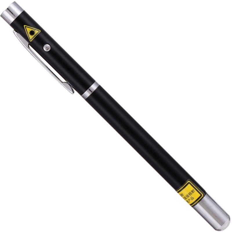 得力(deli)3934 黑色办公红外线笔激光笔PPT电子笔远射会议教学教鞭笔
