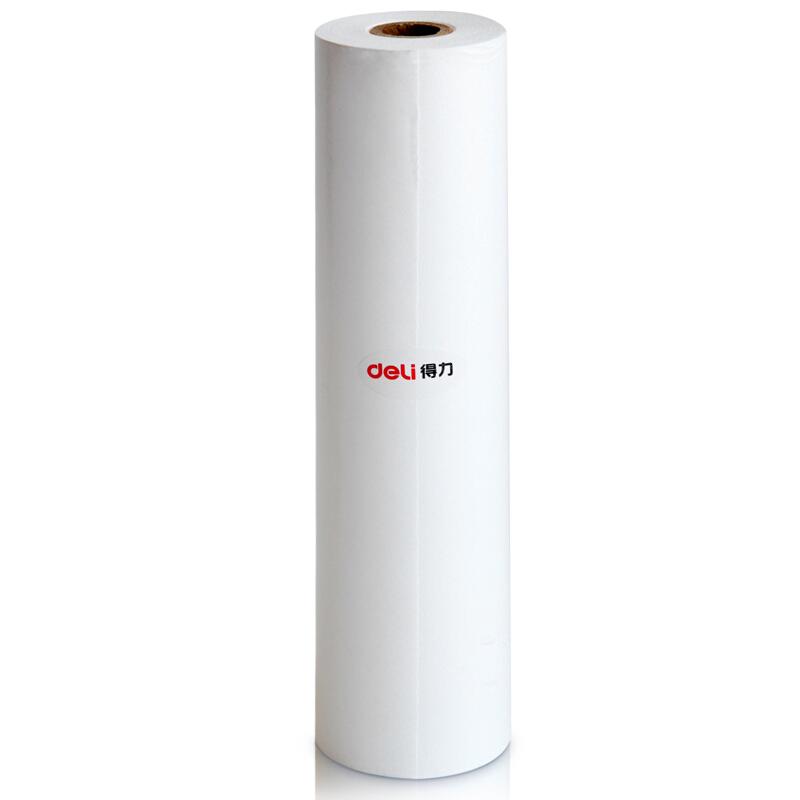 得力(deli) 7727热敏传真纸 210mm*30y 传真机纸 热敏纸 7722(216mm*30m)1单卷 #34