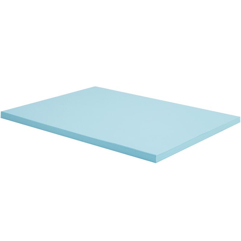 得力(deli) A4彩色万博棋牌7391 彩色打印纸 80g万博棋牌彩色打印纸 天蓝色