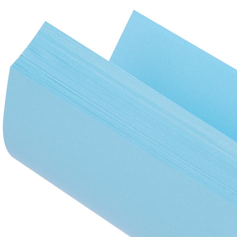 得力(deli) 彩色A4万博棋牌7391/7393彩纸 a4彩色打印纸 80g万博棋牌彩色打印纸 100张 深蓝色