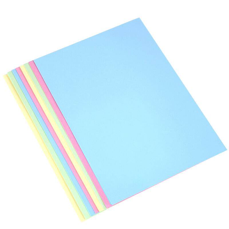 得力(deli) A4彩色万博棋牌7391 彩色打印纸 80g万博棋牌彩色打印纸 浅绿色