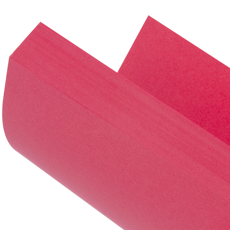 得力(deli) 彩色A4万博棋牌7391/7393彩纸 a4彩色打印纸 80g万博棋牌彩色打印纸 100张 红色