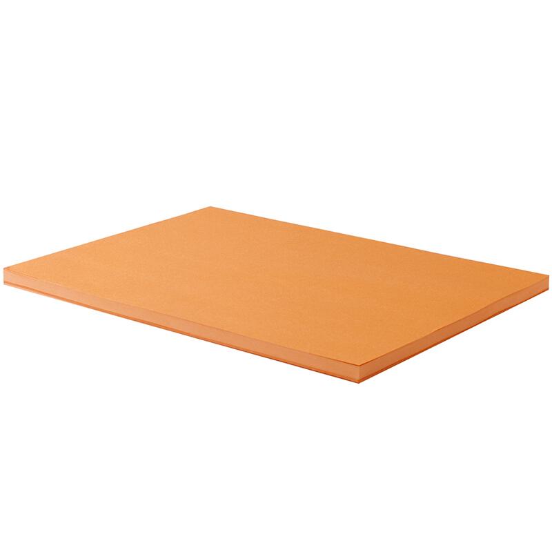 得力(deli) 彩色A4万博棋牌7391/7393彩纸 a4彩色打印纸 80g万博棋牌彩色打印纸 100张 橙色
