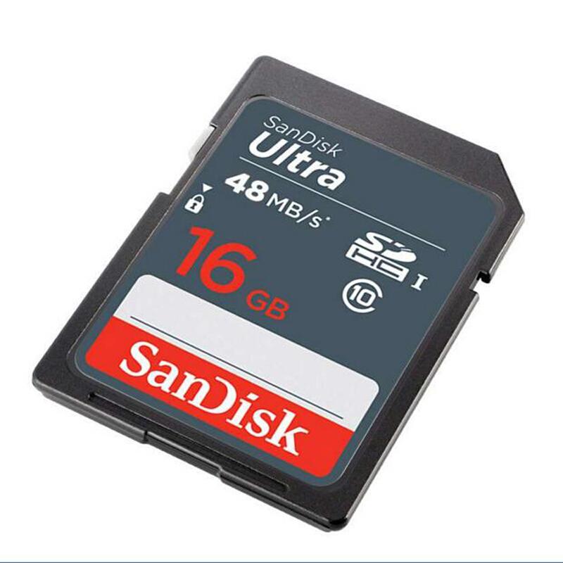 闪迪(SanDisk)至尊高速SDHC UHS-I存储卡16G Class10 读48m/s SD 48M/S