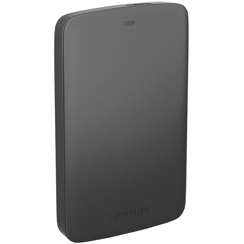 东芝(TOSHIBA)新小黑A2系列 1T 2.5英寸 USB3.0 移动硬盘