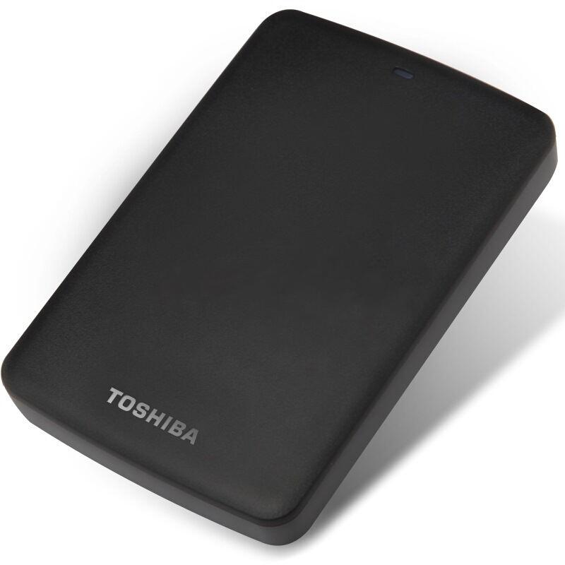 东芝(TOSHIBA)新小黑A2系列 500G 2.5英寸 USB3.0 移动硬盘