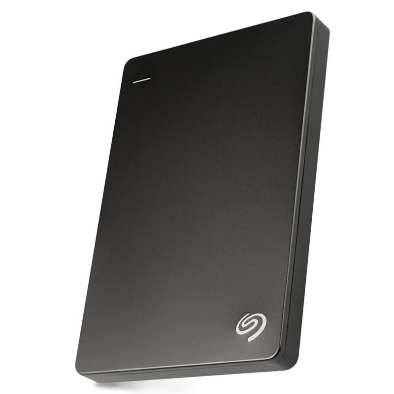 希捷(Seagate)Backup Plus睿品2TB USB3.0 2.5英寸 移动硬盘 金属陨石黑(STDR2000300)