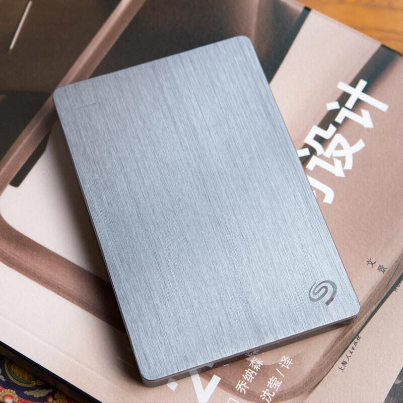 希捷(Seagate)Backup Plus 睿品4TB USB3.0 2.5英寸 移动硬盘 金属皓月银( STDR4000301)