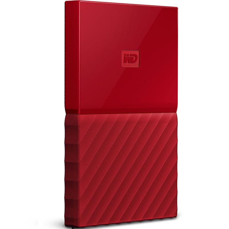 西部数据(WD)My Passport 1TB 2.5英寸 中国红 移动硬盘 WDBYNN0010BRD