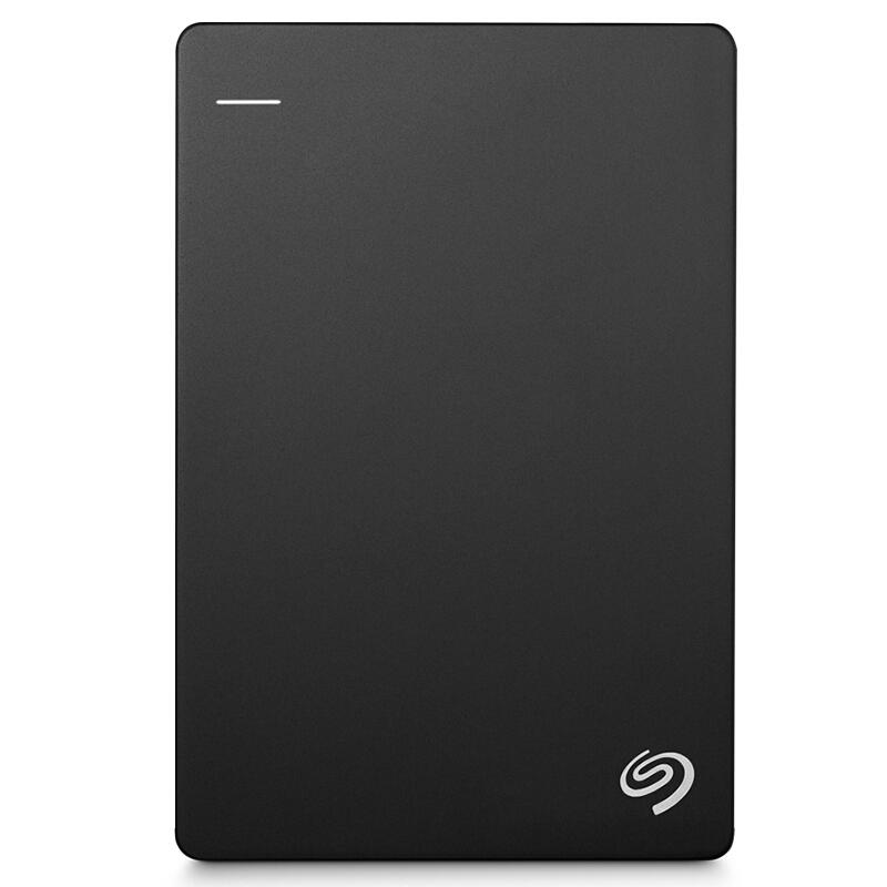 希捷(Seagate)Backup Plus睿品1TB USB3.0 2.5英寸 移动硬盘 金属陨石黑(STDR1000300)