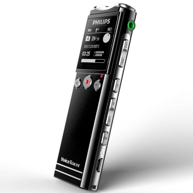 飞利浦(PHILIPS)VTR6200 8G 会议采访 30米远距离无线录音笔