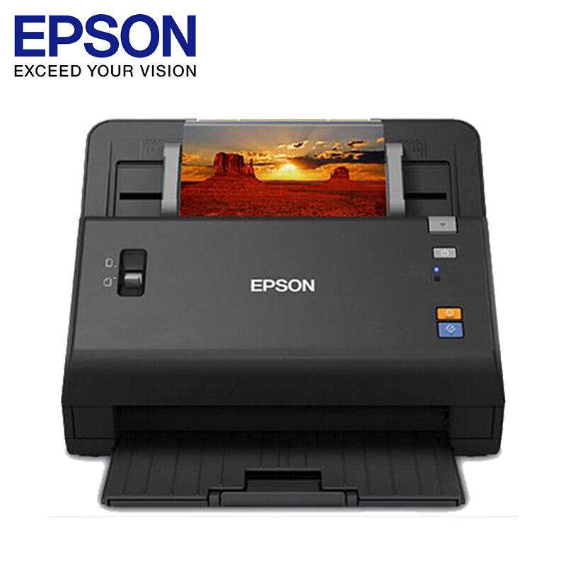 爱普生(EPSON) DS-860 A4超高速馈纸式 彩色文档双面网络扫描仪 官方标配